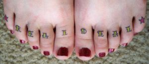 Real Deal Toes Tattoo by xxmatt-thomasxx