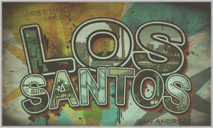 Greetings from Los Santos by xbread2305