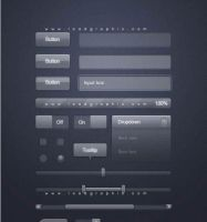 Loadgraphic -Button Glass PSD by kiattikun