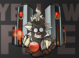 Commission: Mad Scientist Mole by yellow-five