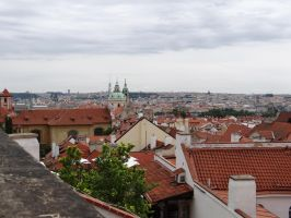 View from the Castle Prague  1 by IsK4nD3R