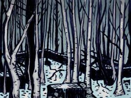 north woods by MallonIllustration