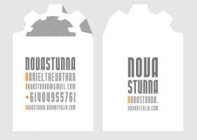 Novastunna Business cards by novastunna