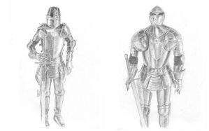 Medieval Armour Study Collage by manaTheory