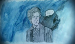 Doctor Who - 'Hello...' by BingotheCat