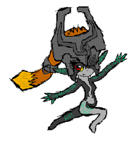 Dancing Midna by Luifex