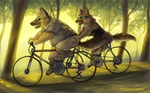 Together We Ride by Katmomma