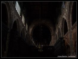 Manchester cathedral by motograph