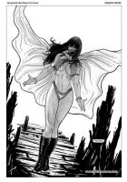 Vampirella Red Room 03 Cover Art by FabianoNeves