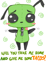Give Gir some TACOS by Morgwaine