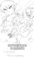 Sketch for Chapter 3 cover by Randommode