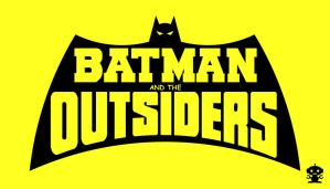 1983 Batman and the Outsiders Comic Title Logo by HappyBirthdayRoboto