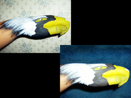 Eagle Handpainting by Shinedriger