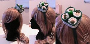 Sushi Head Band Version 2 by mixiao