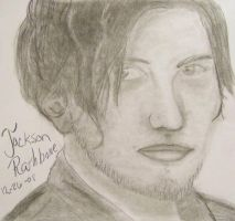 Jackson Rathbone In Pencil by DoofusMaximus
