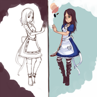 alice wip by chiickadee