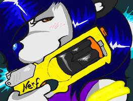 Nerf or Nothin' by StormyTiger