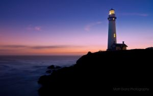 Twilight at Pigeon Point by MattGranzPhotography