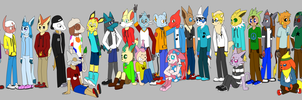 Fight For Pokemon Island Group Picture by Anko6