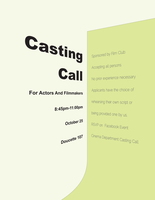 Casting Call by Xicidal