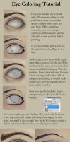 Eye Coloring Tutorial (simplified) by sisaat