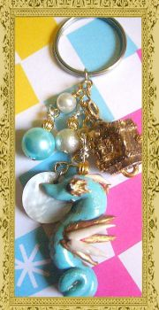 Seahorse Keychain by agscsecret