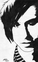 josh farro of paramore by kristhedemon