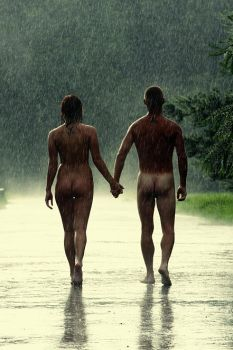 Adam and Eve by pamano