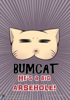 BUMCAT by Kittyillustrations