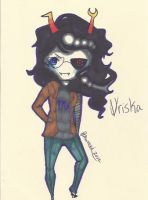 Vriska Chibi by TravelersDaughter
