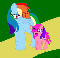 Mother And Daughter 3-A Nice Walk by PokeWarriorMelodies
