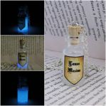 Glow in the dark Lumos maxima potion by Saloscraftshop