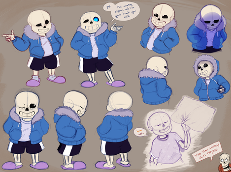 Smol Skele Skullection by SeaSaltShrimp