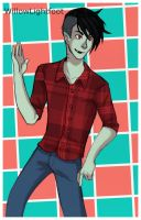 Hey hey, Marshall Lee by WillowLightfoot