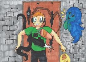 Spoopy fanart for Stormwood by ParadoxialGamer