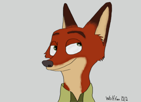 Nick Wilde by wolffan1212