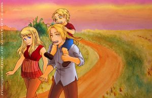 FMA - Family time by MangaX3me