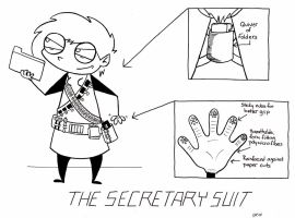 The Secretary Suit by shieldsink