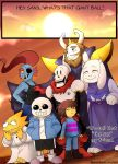 Pacifist Undertale spoiler by mghyuga