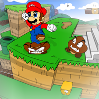 Super Mario 3D Land by SmashToons