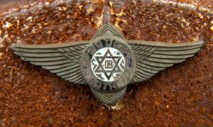Dodge Brothers Emblem very sacred very beautiful by AudraMBlackburnsArt