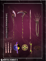 Shinnok Accessories by romero1718