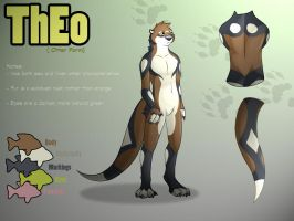 Theo Otter Reference Sheet by WildTheory