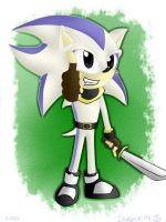 Cloud the hedgehog yeahh by XdarkxkittyX