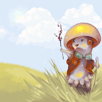 Mushroom Warrior by Lighteh