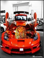Toyota Celica Airbrush by musicnation