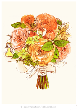 A Thank You Bouquet by j-b0x