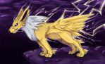 135 Jolteon by Jadenyte