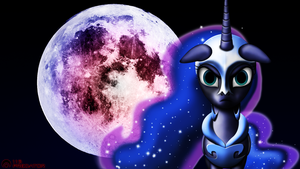 Luna's Corruption - Full Moon by TsaritsaLuna