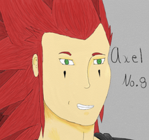 Axel Portrait by Elizabeth1315